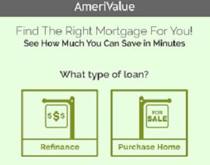 AmeriValue Mortgage Terms