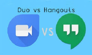 Duo vs. Hangouts Google Apps