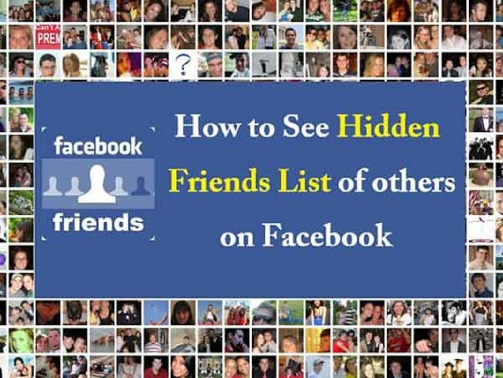 How Can I See A Hidden Friend List on Facebook Image