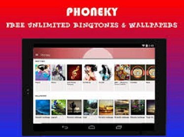 Free downloads from Phoneky