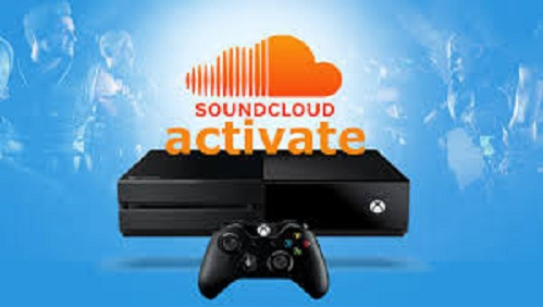 SoundCloud Activate Xbox One App