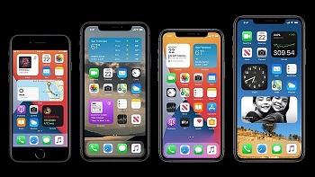 Apple's Four New iPhones 2020