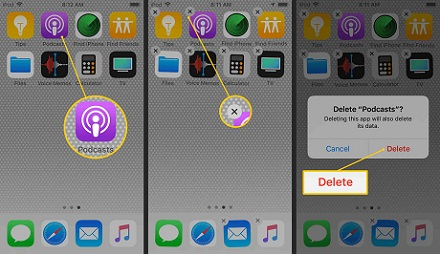 How to move and Delete apps on iPhone