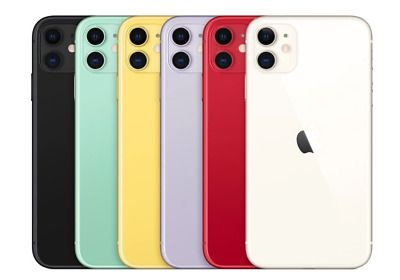 iPhone 11 Colors 2020