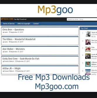 MP3GOO Free Music and Songs Download mp3goo.in