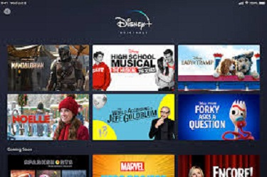 Disney Plus Movies and Shows