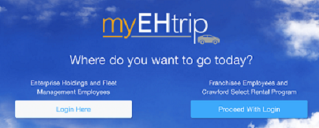 MyEHTrip login How to Log in to MyEHTrip employee Account