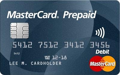 Prepaid MasterCard PayPal Login