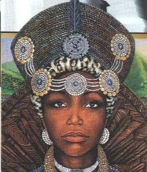 Queen-Nandi-of-the-Zulu-kingdom