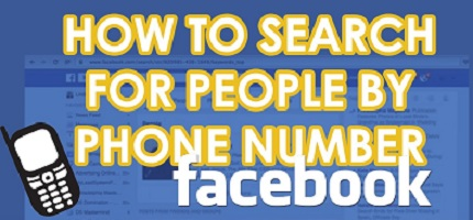 Facebook Phone Number Search 2021