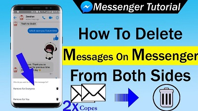 How to permanently delete messages on Facebook Messenger