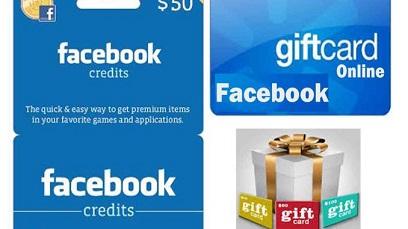 Facebook Gift Cards Online How to Send & Redeem Facebook Gift card