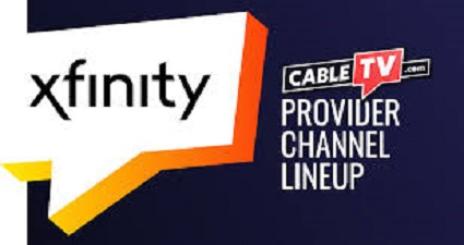 Comcast Channel Lineup List with Number 2021