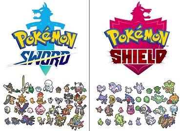 Pokemon Shield Exclusives - Pokemon Shield Exclusives Lists