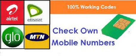 How to Check MTN number, Etisalat, Glo & Airtel