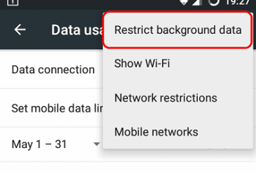What is background data how to restrict background data Usage