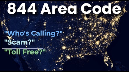 844 Area Code Location City Time Zone