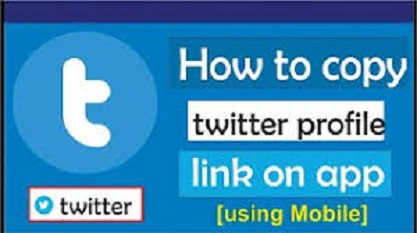 How to get your Twitter profile link & a retweet link