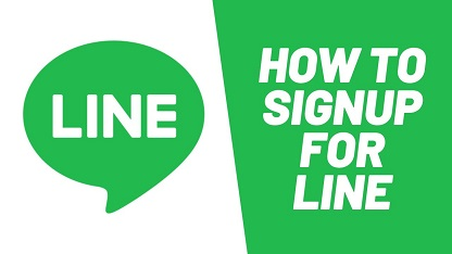 Line Sign Up Online Line Account Login with Email