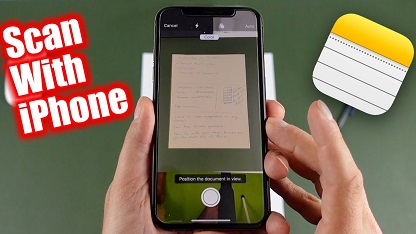 Scan Documents on iPhone and iPad