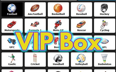 VIPBox TV Watch Live Sports Stream for Free