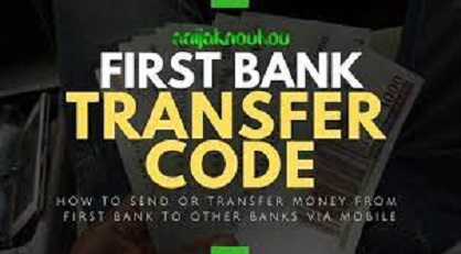 First Bank code for transfer 2021