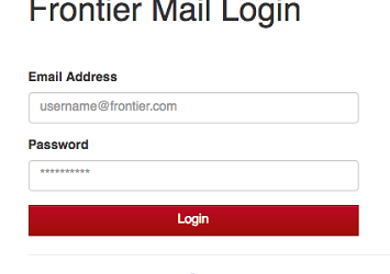 Frontier Email Login 2021