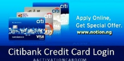 Citi Card Login Online Registration and Payment