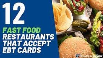 EBT Restaurant List Fast Food Restaurants That Accept EBT