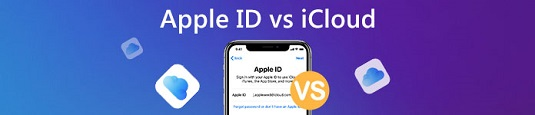 What is The Difference Between Apple ID and iCloud ID